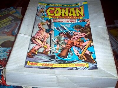 Conan The Barbarian # 53  J. Buscema Art Brothers Of The Blade Issue Look Vf-