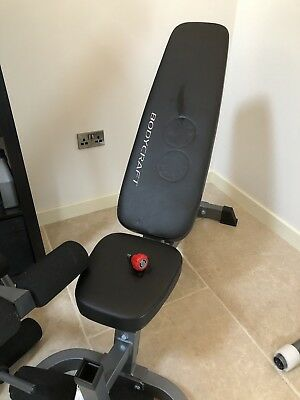 Bodycraft Weight Bench with Leg Extension