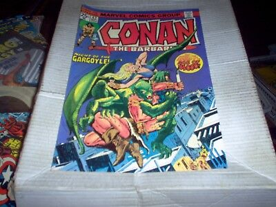 Conan The Barbarian # 42 J. Buscema Art Night Of The Gargoyle Look Vf-