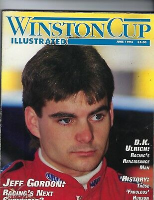 Publications Winston Cup Illustrated June 1994 Featuring Jeff Gordon