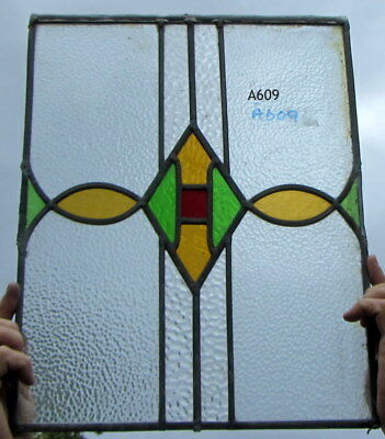 A609    Stained Glass Ca 1930s