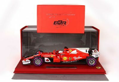 BBR High End Ferrari SF70H GP Monaco 2017 Sieger Vettel Start Race Vers. 1875MSR