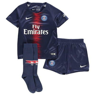 Nike Paris Saint Germain Home Mini Kit 2018 2019