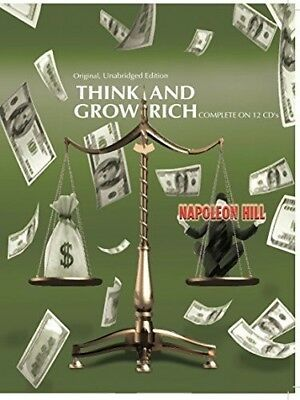 Think & Grow Rich - Napoleon Hill (2009, CD NUOVO)