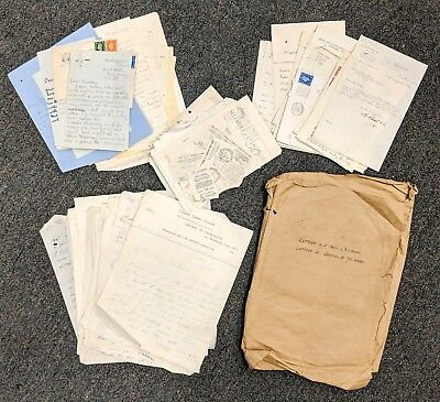 WWII Correspondence Group Lot Young School Girls Evacuated Away From London 1941
