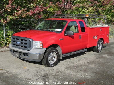 Ford F-350  2006 Ford F-350 Extended Cab Pickup Truck Service Body A/C 5.4L V8 A/T bidadoo