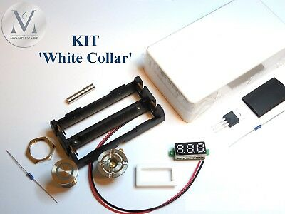 "Kit Box Méca DIY ""White Collar"" ABS Unregulated Box"