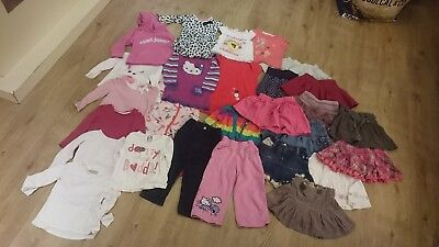 Large Bundle Baby Girl Toddler Clothes 18 24 Months Next Skirt Dress (1.5 - 2)