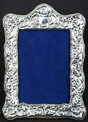 Solid Silver Photograph Frame. Hallmarked in London.