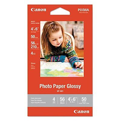 Canon 4 X 6 Inches Photo Paper Glossy, 11 packs = 550 Sheets