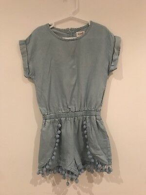 Seed Heritage Chambray Playsuit
