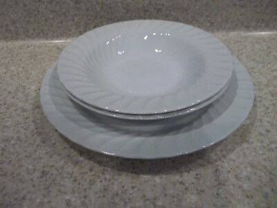 Johnson Brothers LONDON WHITE Cereal Bowl 280054