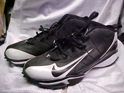 86e717a6b4 Nike Air Speed Destroyer 5/8 Football/Lacrosse Turf Cleats Black/White Size