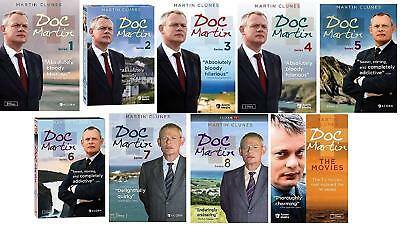 Doc Martin Complete TV Series All Seasons 1-8 Movie Film DVD Set Collection Box