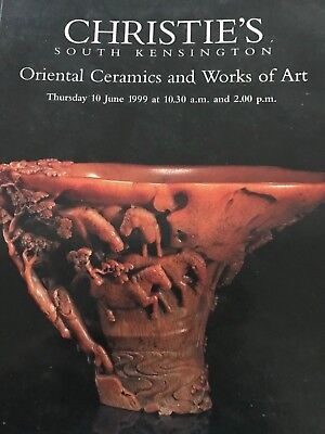 Christie's Oriental Ceramics and Works of Art June 1999
