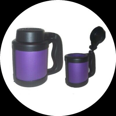 Flip-Top Can Stein-Blank Purple Thick Foam Beverage Insulators Can Coolers