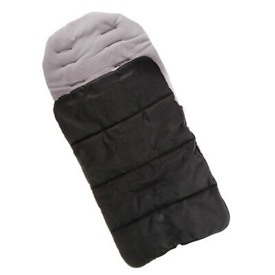 Universal Footmuff Apron Wind Shield Canopy Shade Baby Car Seat Cover Gray