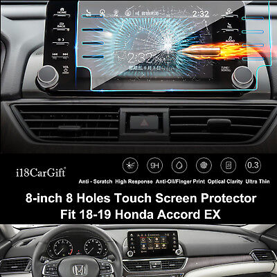 20187-2019 Honda Accord EX (8 holes) Tempered Glass Touch Screen Protector