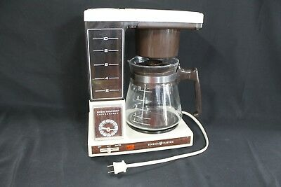 VINTAGE General Electric Brew Starter 10 Cup Automatic Drip Coffee Maker
