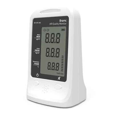 BRAMC AIR Quality Monitor PM2.5 Air Particle Counter Formaldehyde Gas (HCHO)