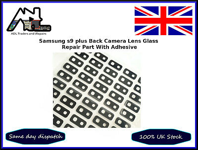Samsung Galaxy S9 + Plus SM-G965F Back Rear Camera Glass Lens Adhesive Replace