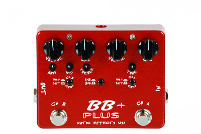 Xotic Effects BB Plus Overdrive DEMO