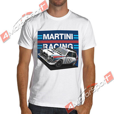 Lancia Delta S4 Rally Group B Martini Racing T Shirt WRC