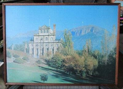 Vintage Cascade Brewery Framed Photo 1960 - 70's??