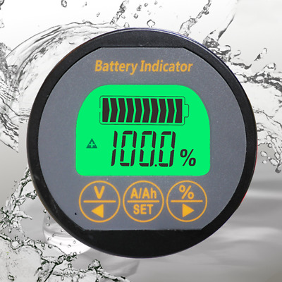 Battery Monitor DC 80V 100A Voltage Current AH Capacity Tester Voltmeter Ammeter