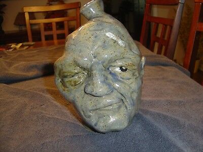 Face Jug by Mahlke