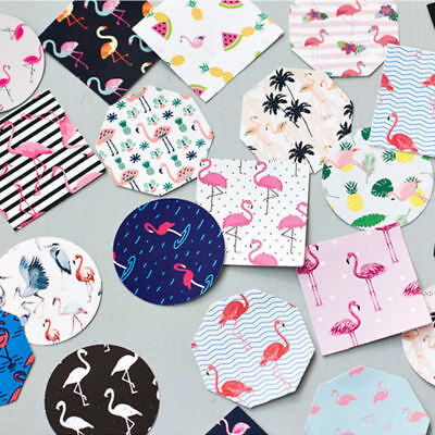 45Pcs/lot Flamingo Paper Diy Diary Scrapbooking Label Sticker Stationery Decor