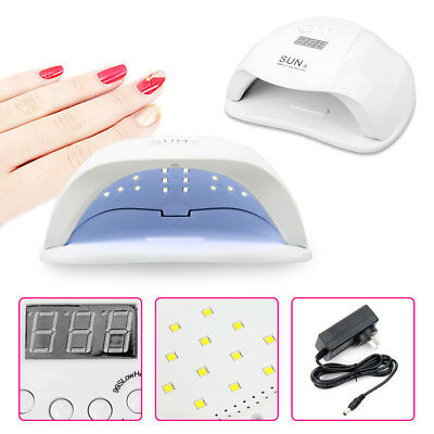 54W Sun X LED UV Nail Lamp Light Gel Polish Dryer Manicure Art Curing AU Plug