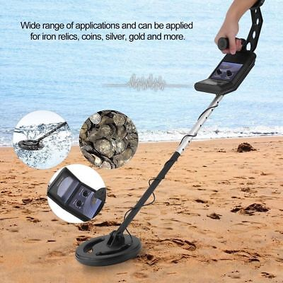 Bounty Hunter Gold Digger Metal Detector Ground Coins Automatic Tuning Jewelry @
