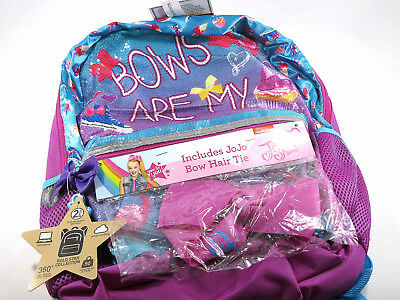 Nickelodeon JoJo Siwa - Bows are my Super Power - Backpack - includes bow hair t