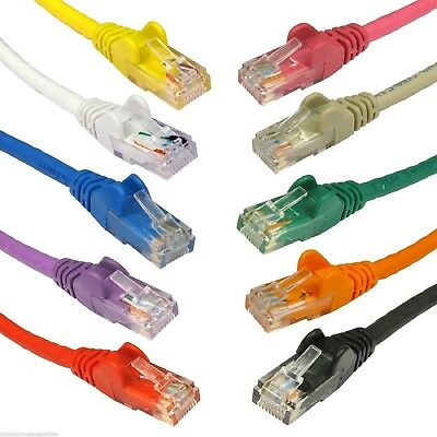 RJ45 Ethernet Cat5e Network Cable LAN Patch Lead Wholesale 10m Next Day Delivery