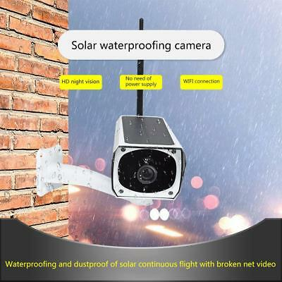 Wifi 1080P HD Outdoor IP67 Wireless Solar Panel Security IP Camera Night Vision
