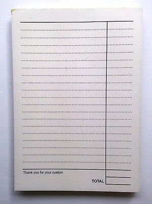4 X A6 NCR-Carbonless-Duplicate-Takeaway-Restaurant-Order Pads
