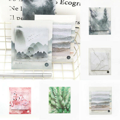 Creative Stationery Paper Memo Pad Sticker Sticky Notes Notepad Remind Bookmark