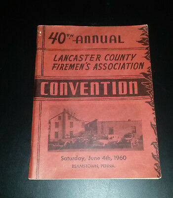 40th Annual Lancaster County Firemen's Convention, 1960, Reamstown, PA