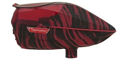 Virtue Spire 200 Paintball Loader - Graphic red