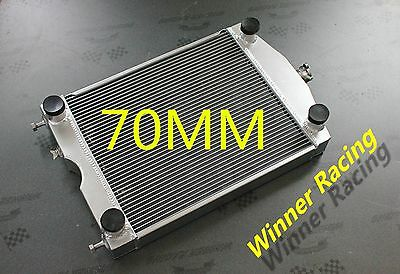 Aluminum Radiator Ford 2N/8N/9N Tractor W/flathead V8 engine Up to 1000HP 70MM
