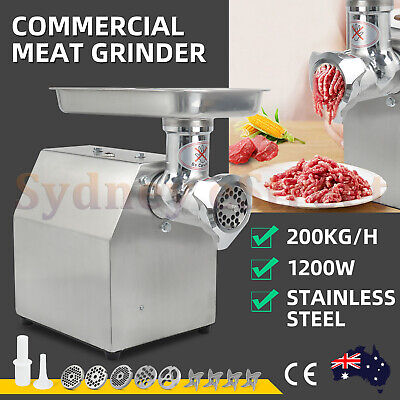 NEW 950W 1.2HP Commercial Meat Mincer - Electric Grinder & Sausage Maker Filler