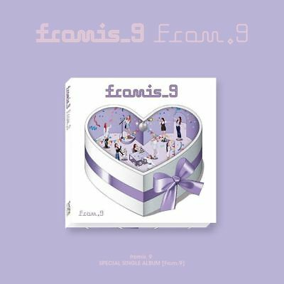 Fromis_9-[From.9] Specia Single Album CD+Poster(On)+PhotoBook+Card+KPOP POSTER