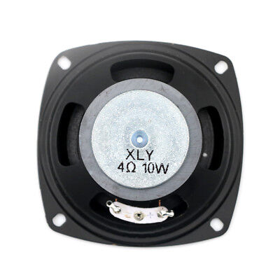 "3"" inch 4Ohm 4Ω 10W Round Full Range Audio Speaker Loudspeaker Horn Home Car BDA"
