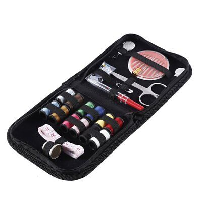 24 pcs Sewing travel Kit, Color Thread, Scissors, Buttons, Needles, Safety Pins