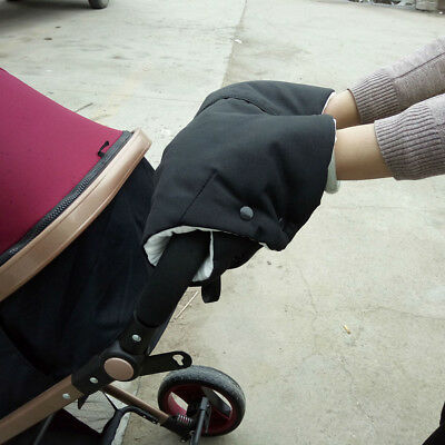 Baby Stroller Trolley Handle Cover Glove Keep Warm Windproof For Outdoor Winter