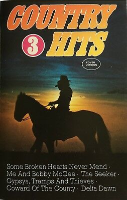 K7-Tape-Cassette- Country Hits Vol.3 - 45 289 6