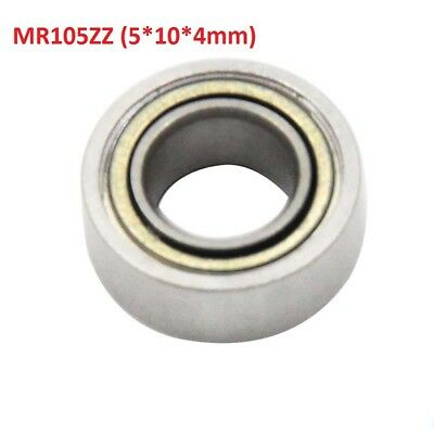 10pcs MR105ZZ Mini Bearing 5x10x4mm Ball Miniatur Bearing 5*10*4 For 3D Printer