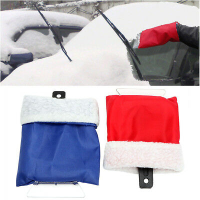 Car Snow Shovel Scraper With Glove Remove Removal Durable Portable Clean Tool