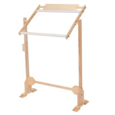 DIY Stand Rack Solid Wood Frame Holder Tapestry Cross Stitch Embroider Tool Kit